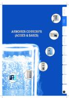 Armoires Acides et Bases